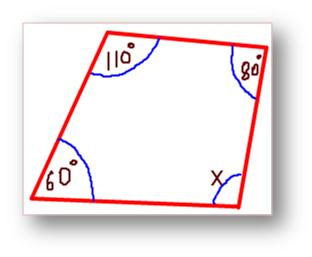 Finding Missing Angles of Quadrilaterals http://www.math-only-math.com ...