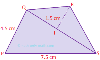 Finding the Perimeter and Area of Quadrilateral