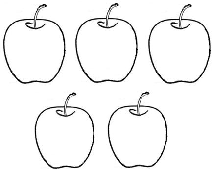 Learn to write number 5 learning the preschool for Number 5 coloring page