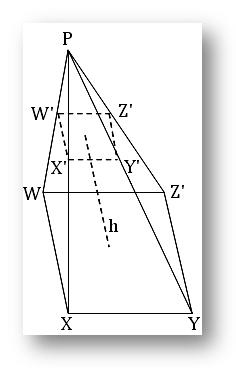 frustum of a pyramid, frustum