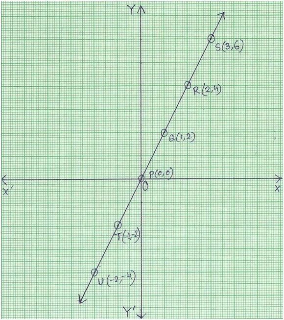 Graph of Linear Equation