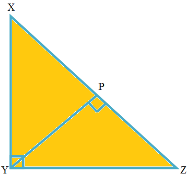 Greater segment of the Hypotenuse is Equal to the Smaller Side of the Triangle