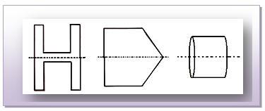 Horizontal Lines of Symmetry