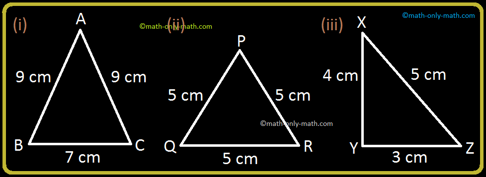 Identify the Type of Triangle