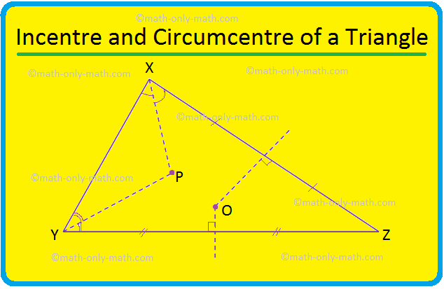 Incentre and Circumcentre of a Triangle