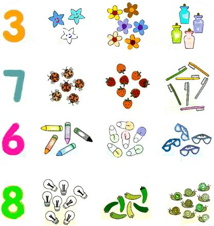 Numbers up to 10 | Kindergarten Math Lesson Plan | Math Lesson Plan ...