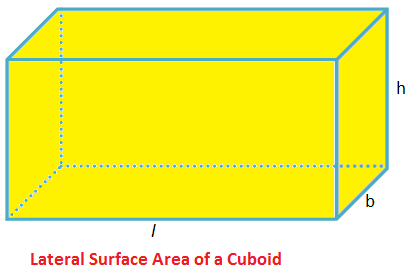 Lateral Surface Area of a Cuboid