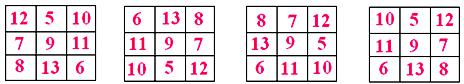 Magic Square Math