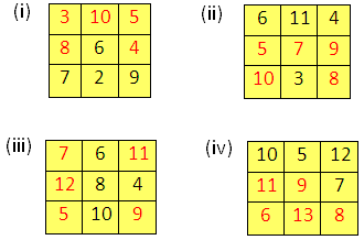 Magic Square Box Math