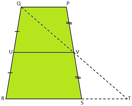 Midsegment Theorem on Trapezium