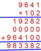 Multiply Decimal and Decimal Numbers