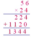 Word Problems on Multiplication