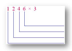 Expanded Notation to Multiply