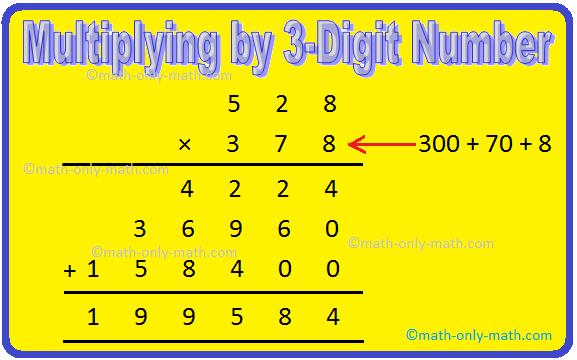 Multiplying by 3-Digit Number