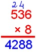 Multiplying Decimal by a Whole Number