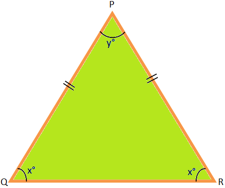 One Angle of an Isosceles Triangle