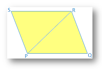 Opposite Sides of a Quadrilateral are Equal and Parallel