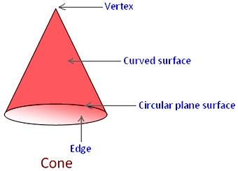 Parts of a Cone