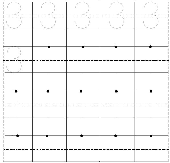 graphic relating to Number 3 Printable called Printable Worksheet upon amount 3 Preschool Range Worksheets