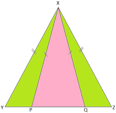 Problem Based on Isosceles Triangles