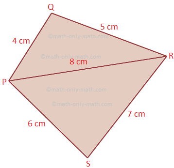 Problems on Perimeter and Area of Quadrilateral