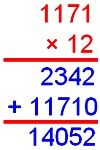 Product of a Decimal by a Whole Number