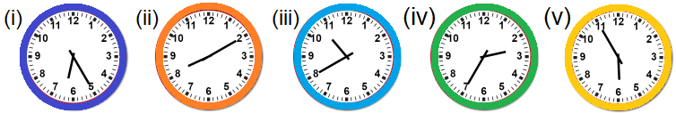Read and Draw the Clock Hands