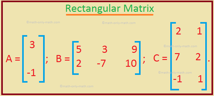 Rectangular Matrix