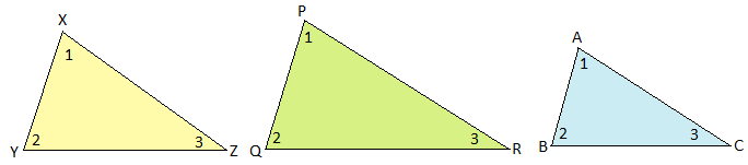 Similar Triangles Image