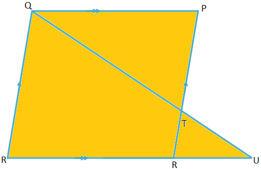 Similarly on Quadrilateral