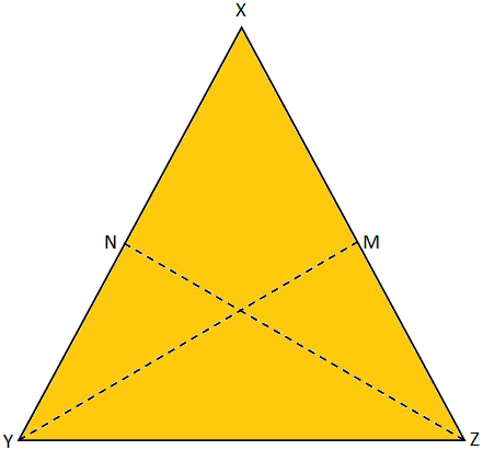 Lines Joining the Extremities of the Base of an Isosceles Triangle