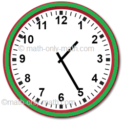 Telling Time in 5-minute Intervals