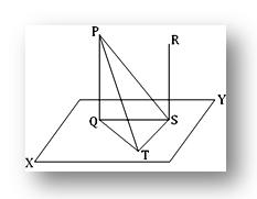 Theorem on parallel lines and plane