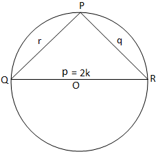Solved problems using theorem on properties of triangle