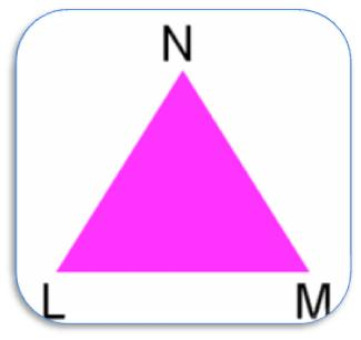 Triangle LMN