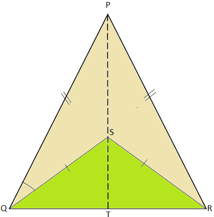 Two Isosceles Triangles on the Same Base