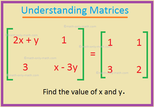 Understanding Matrices
