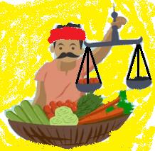 Measuring Vegetables