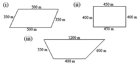 Unit 9 Section 3 : Perimeter of Special Shapes