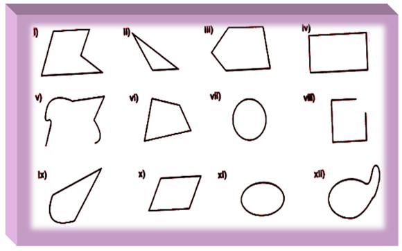 Printables Polygons Worksheet worksheet on polygon are important to practice so that students which of the following polygons circle them