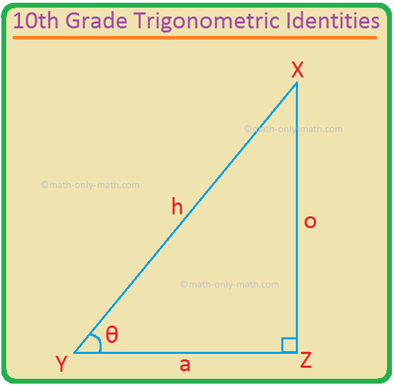 10th Grade Trigonometric Identities