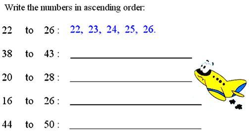 Ascending Order or Descending Order