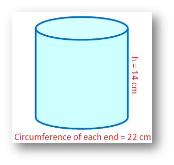 Circumference of the Cross Section of Cylinder