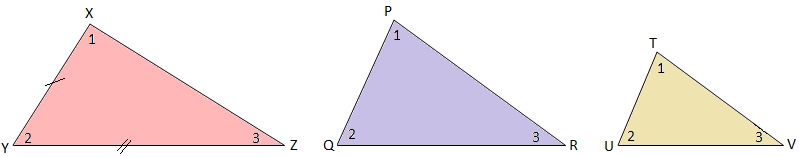 Congruency and Similarity of Triangles