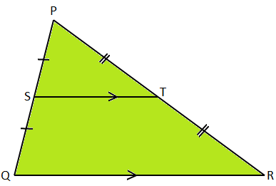 Converse of Midpoint Theorem Proof