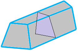 Cross Section of Sold Figure