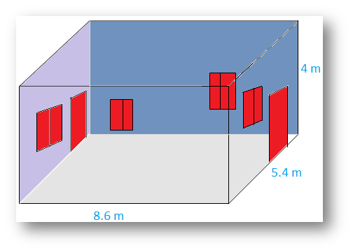 Dimensions of a Cubical Room