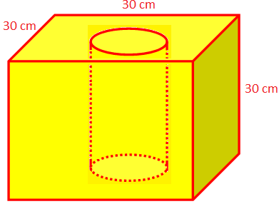 Edge of a Cubical Block