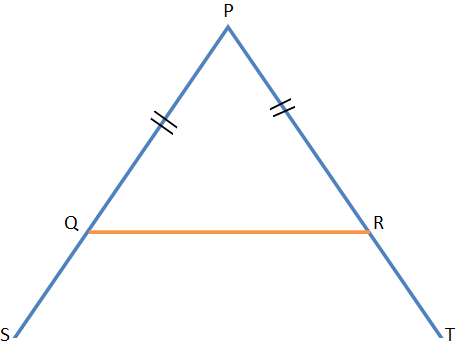 Equal Sides of an Isosceles Triangle