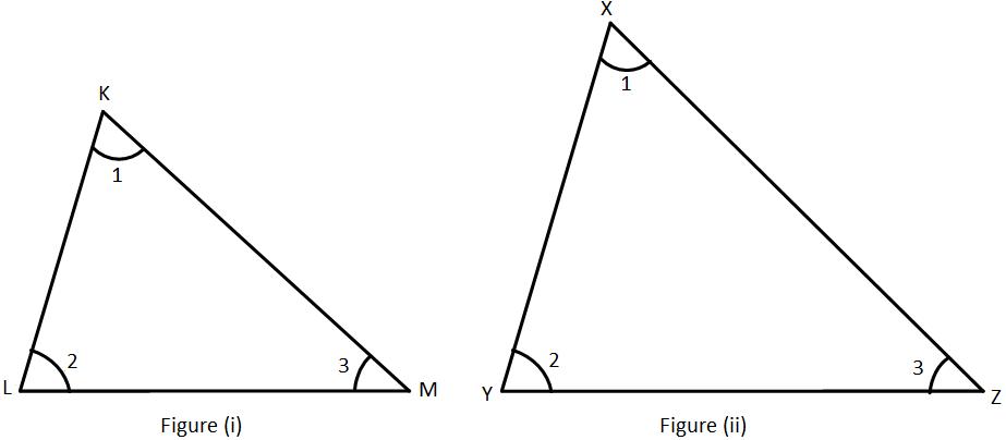 Equiangular Triangles